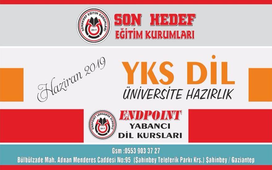 Gaziantep 2019 YKS-DİL (İngilizce) sınavına hazırlık programı kayıtlarımız başladı !