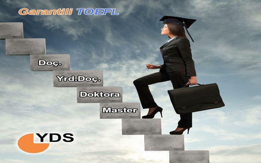 YDS -TOEFL ve YÖKDİL programları ile kariyerinizin önündeki engeller kalkıyor.